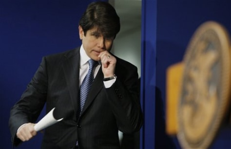 Aimage: Illinois Gov. Rod Blagojevich