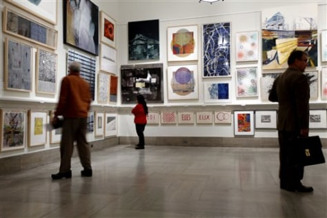 Image: Lehman's art collection
