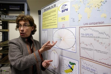 Image: International Bureau of Weights and Measures scientist Elisa Felicitas Arias.