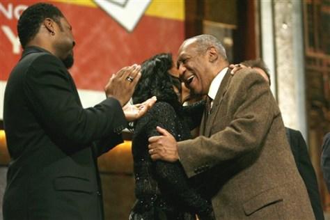 Image: Bill Cosby, Phylicia Rashad, Malcolm-Jamal Warner