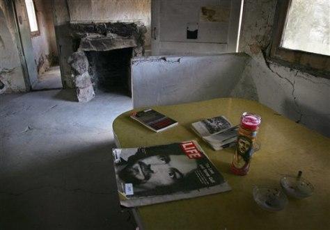 Image: Manson hideout