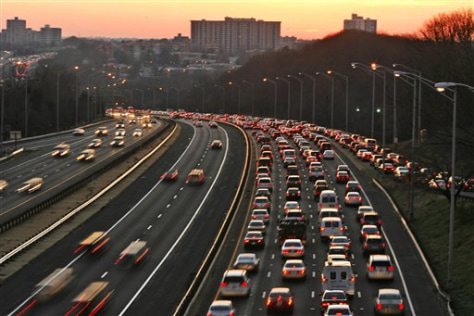 Image: rush hour traffic