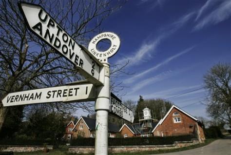 Image: Linkenholt in southern England