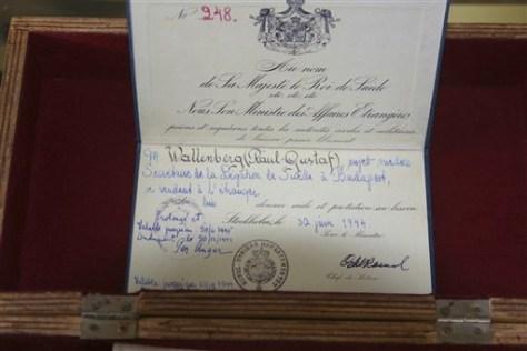 IMAGE: WALLENBERG'S PASSPORT