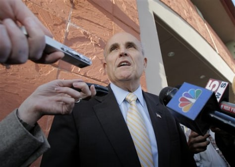 Former Mayor Rudy Giuliani, R-N.Y.C.