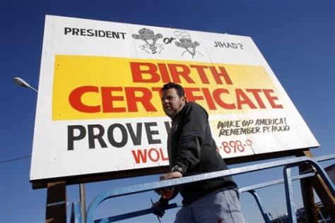 Obama Jihad Billboard