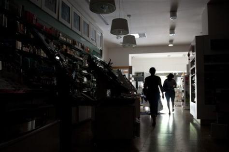 Image: Brazil blackout