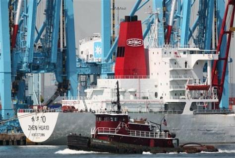 Image: Cargo ship