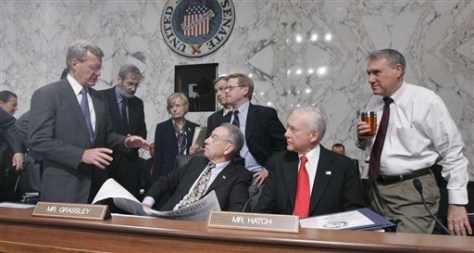 Image: Baucus, Grassley, Hatch, Kyl
