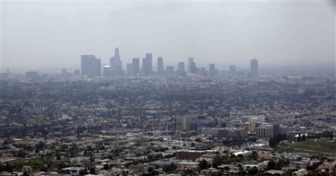 Image: Smog over Los Angeles