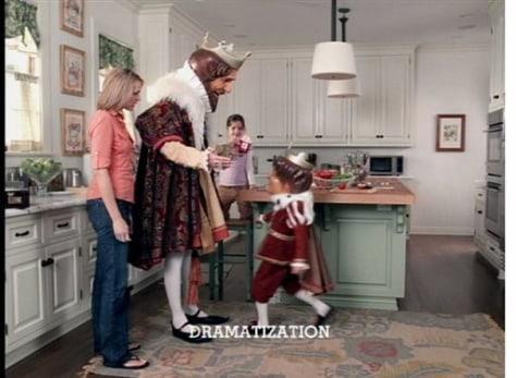 "Image: Burger King ""Little King"" ad"