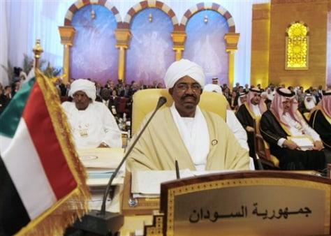 Image: Sudanese president