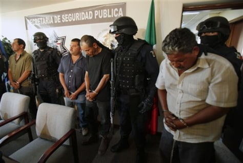 Image: Alleged Mexican smugglers