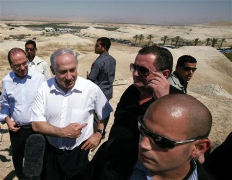 Image: Israel's prime minister