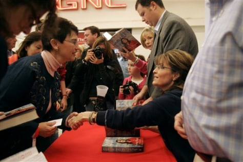 Palin Fort Bragg