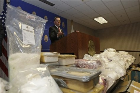 Biggest meth seizure in eastern U S  made - US news - Crime