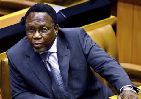 APTOPIX SOUTH AFRICA POLITICS