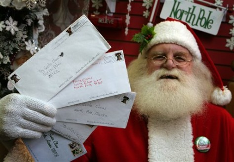 SANTA'S MAIL CANCELLED