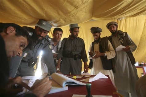 Image: Afghanistan elections