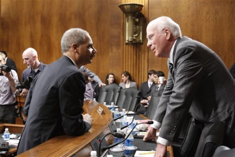 Image: Holder, Leahy