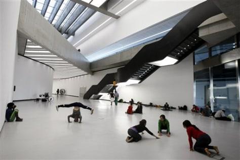 Image: Maxxi art museum in Rome