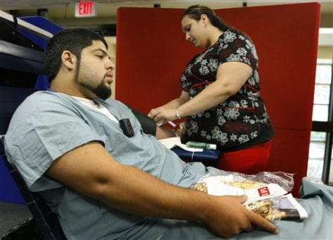 Recession Blood Drives