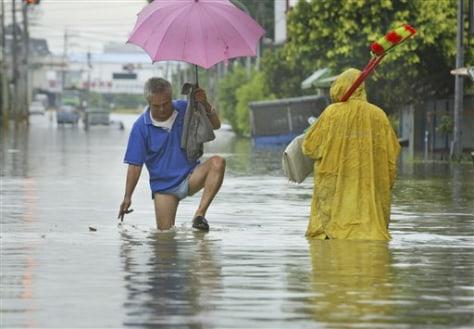 Taiwan Tropical Storm