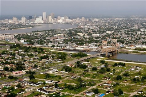 Image: Aerial view of New Orleans