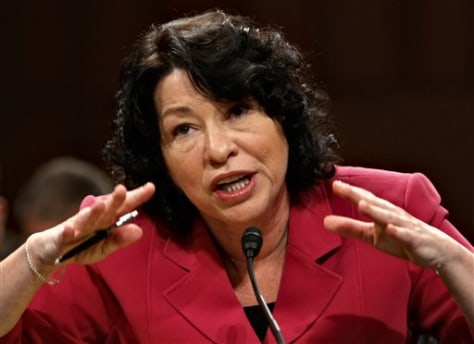 Image: Judge Sonia Sotomayor
