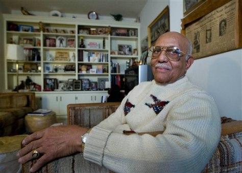 Image: Former White House butler William Bowen Jr.