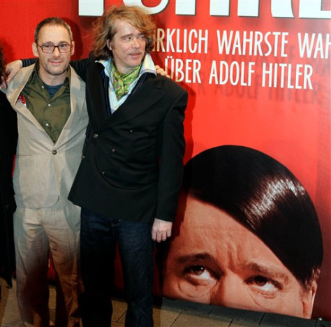 IMAGE: ACTOR, DIRECTOR IF HITLER MOVIE