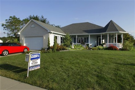 Sales of previously occupied homes, like this one in Springfield, Ill., plunged last month to the lowest level in 15 years, despite the lowest mortgage rates in decades and bargain prices.