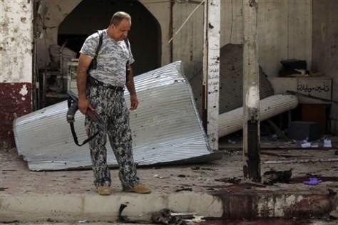 Image: Iraq suicide bombing