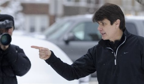 Image: Illinois Gov. Rod Blagojevich