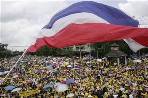 APTOPIX Thailand Political Tensions