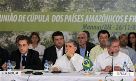 Image: Amazon Summit in Brazil