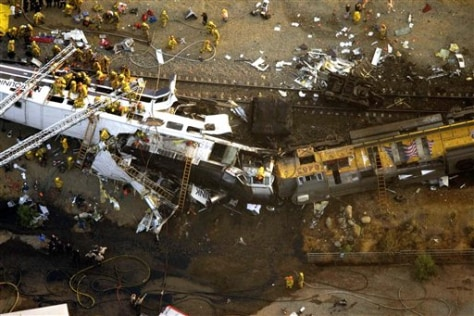 Image: Calif. train crash