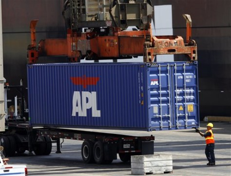 Image: APL Terminal at the Port of Los Angeles