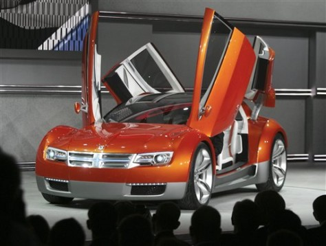 Image: Dodge ZEO concept car