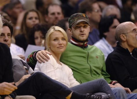 When did cameron diaz and justin timberlake start dating