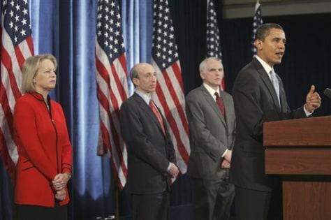 Image: Obama, team