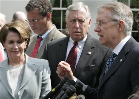 Sen. Harry Reid, Reps. Nancy Pelosi, Steny Hoyer