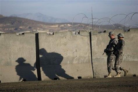 Image: U.S. soldiers in Afghanistan