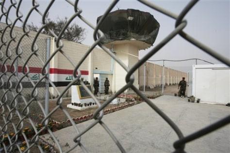 Image: Renovated Abu Ghraib prison