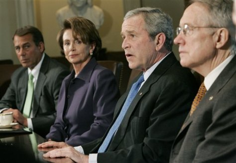 Bush and Congressional leaders