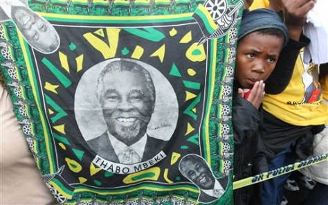 Image: Mbeki supporters