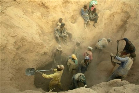 IMAGE: Zimbabwe diamond mine