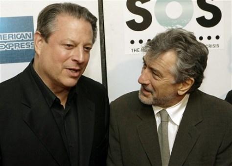 Image: Gore, De Niro
