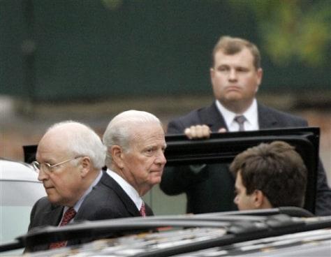 James Baker, Dick Cheney