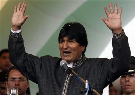 Image: Evo Morales